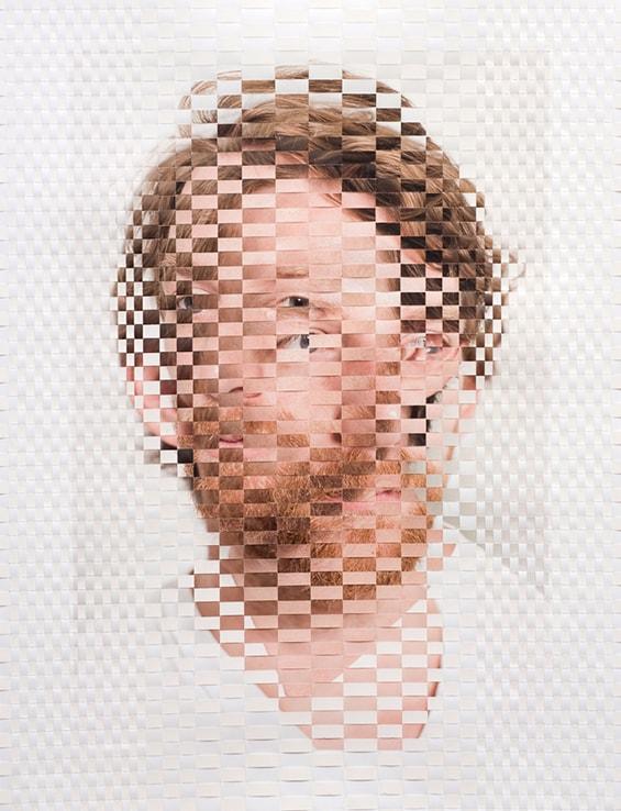Artista cria interessante série fotográfica fundindo dois retratos diferentes da mesma pessoa stylo urbano-4