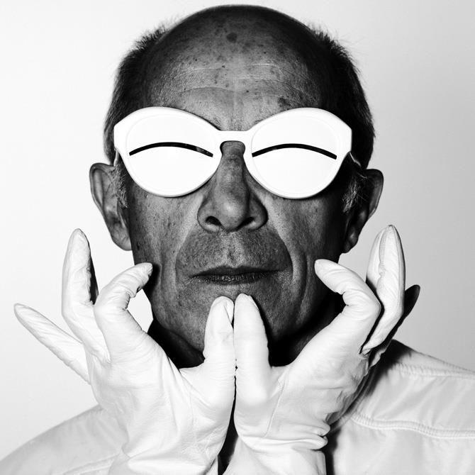 O estilista francês Andre Courrèges foi o percussor da moda futurista dos anos 60 stylo urbano-1