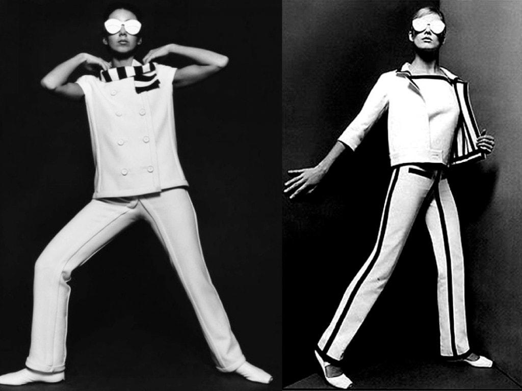 O estilista francês Andre Courrèges foi o percussor da moda futurista dos anos 60 stylo urbano-4
