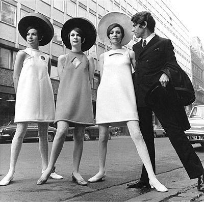 O estilista francês Andre Courrèges foi o percussor da moda futurista dos anos 60 stylo urbano-2