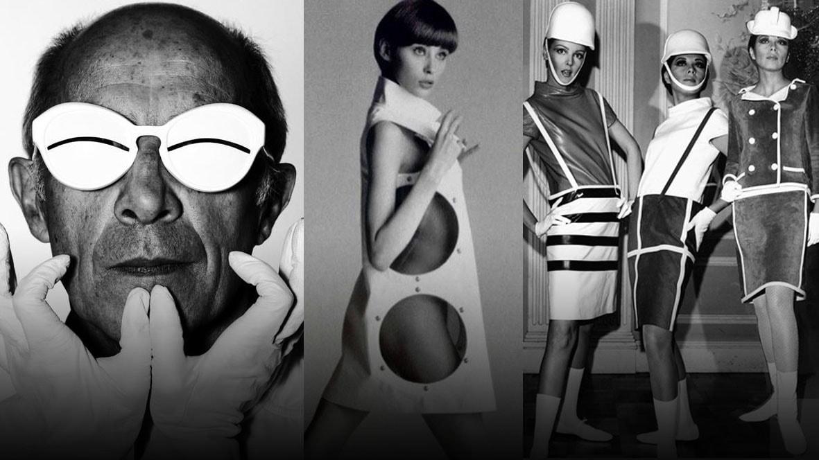 Andre Courrèges foi o percussor da moda futurista dos anos 60 ... 4f330378b5