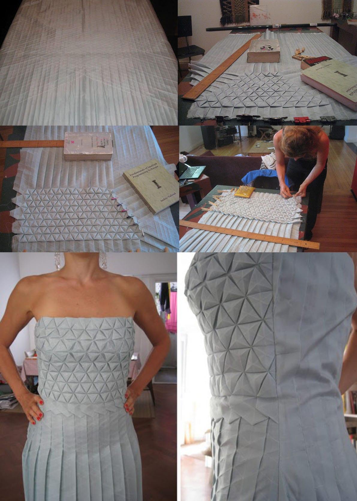 A antiga arte do origami inspira estilistas na criação de roupas esculturais de vanguarda stylo urbano-4