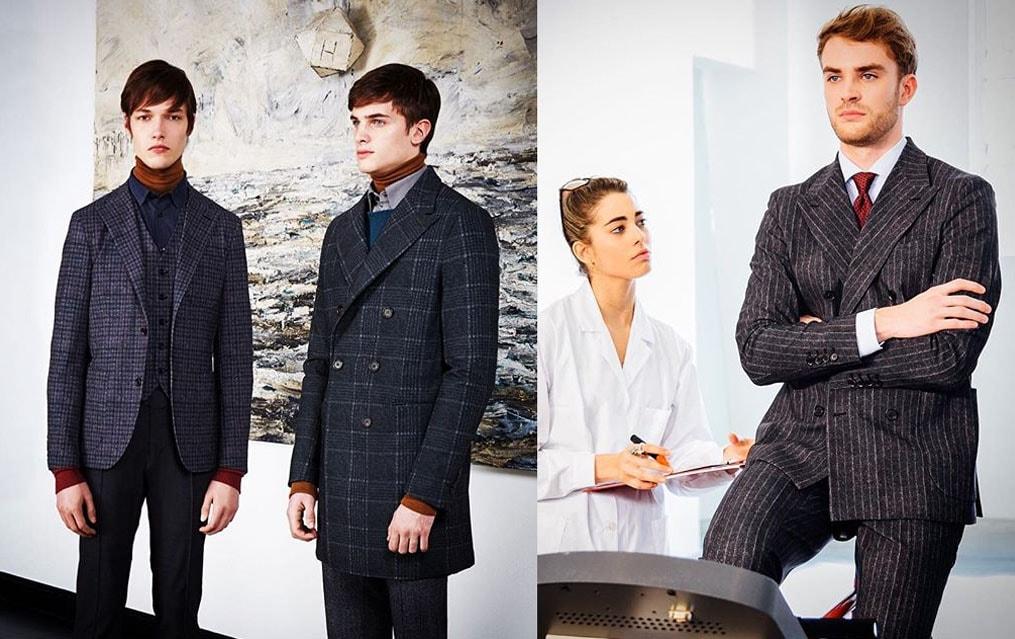 Empresa italianacria tecido que combina a elegânciadaalfaiataria com a praticidade dosportswear stylo urbano