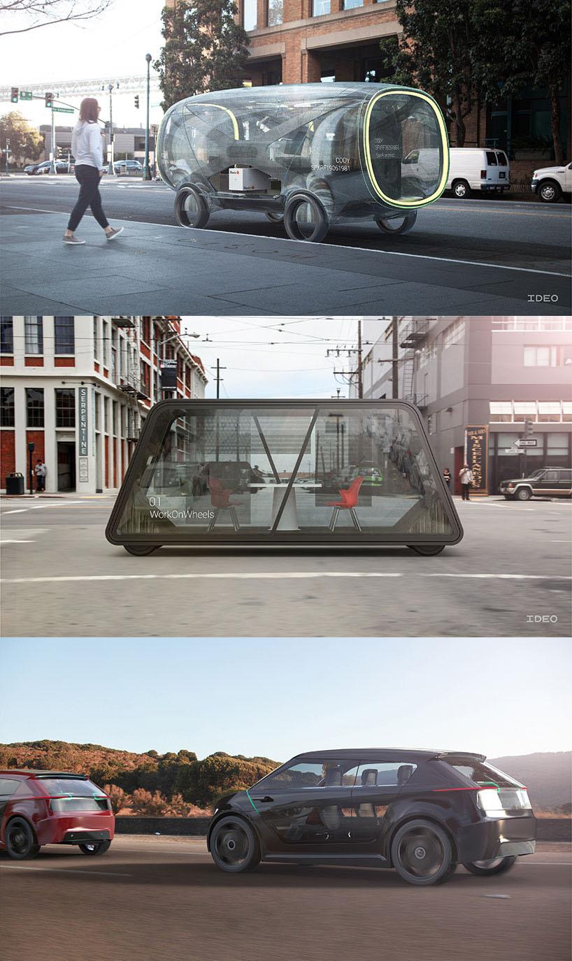IDEO, os carros autônomos do futuro que impactarão nosso estilo de vida stylo urbano