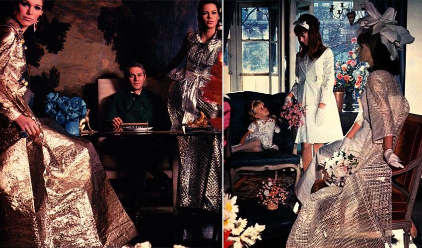 A Era Espacial dos anos 60 lançou os vestidos de papel que foram os percussores do fast fashion stylo urbano-2