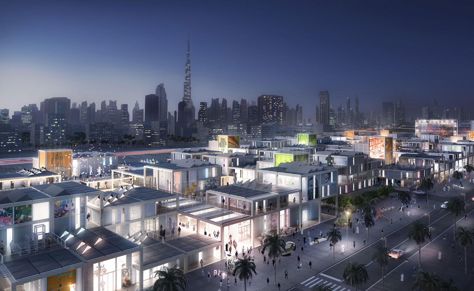 Dubai Design District será o centro da arte, moda, design e luxo do Oriente Médio stylo urbano