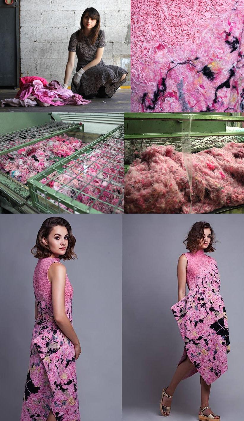 Dana Cohen utiliza resíduos têxteis para sua coleção de moda sustentável stylo urbano-1