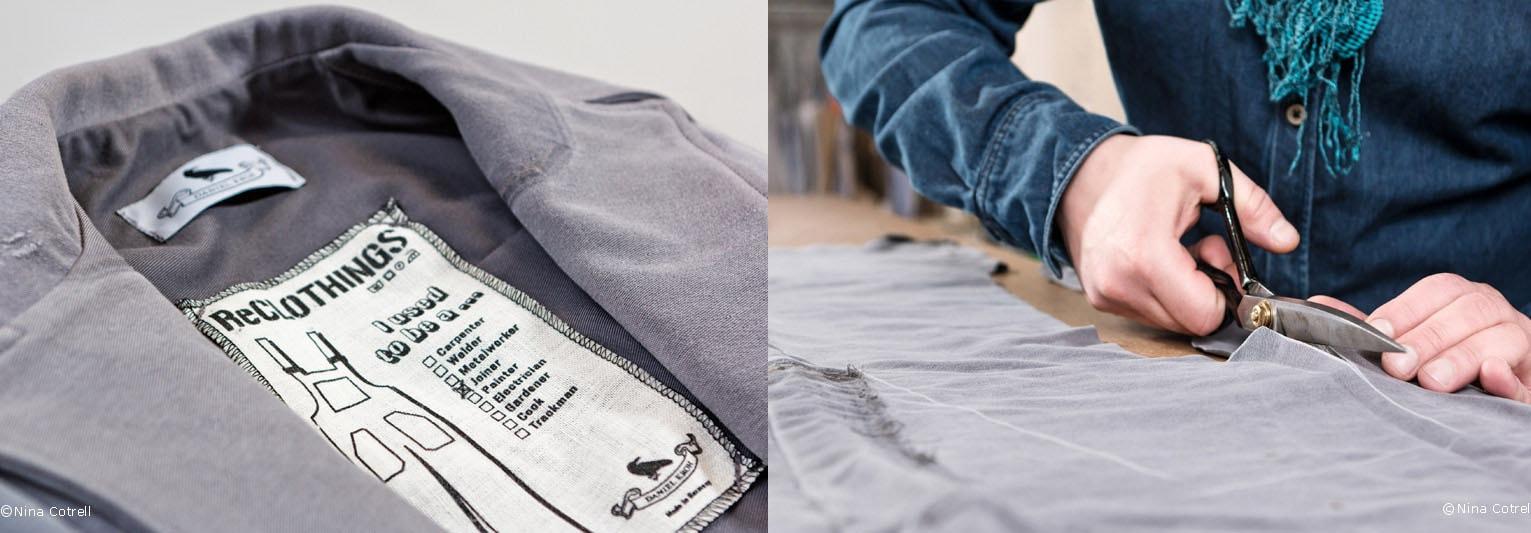 ReCLOTHINGS cria coleções sofisticadas feitas 100% de uniformes de trabalho stylo urbano-1