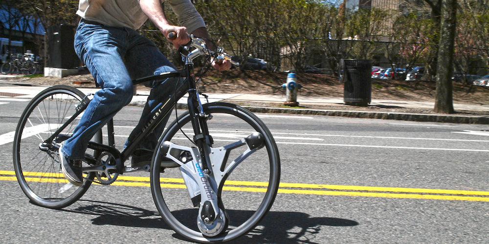 A roda GeoOrbital transforma sua bicicleta normal numa elétrica stylo urbano