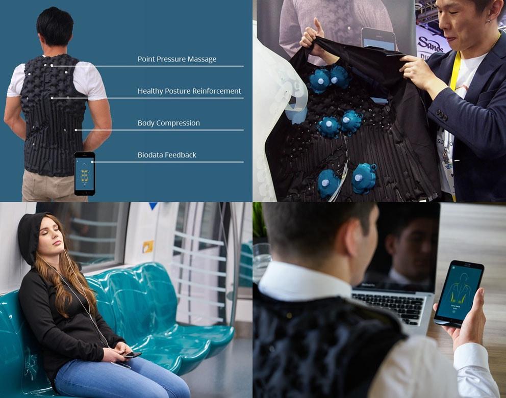 AiraWear - O primeiro moletom massageador do mundo stylo urbano