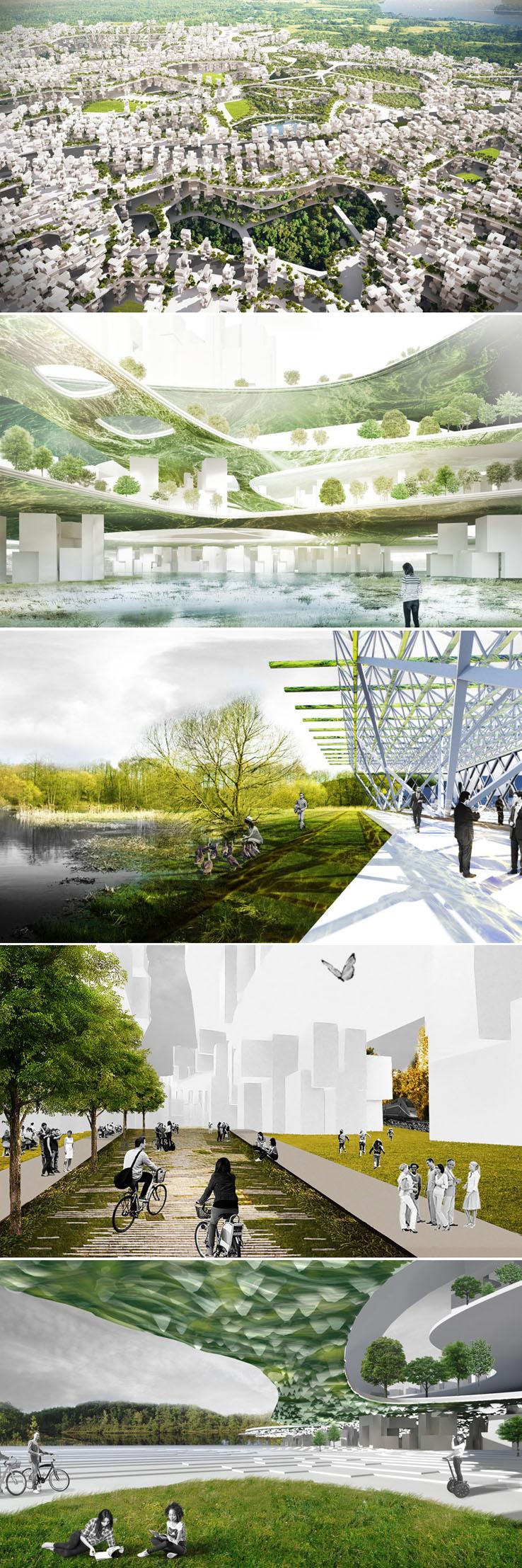 Liberland terá a primeira cidade empilhável do mundo alimentada por algas stylo urbano