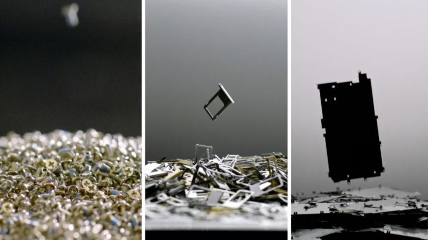 Apple cria Liam, o robô que desmonta iPhones para serem reciclados stylo urbano