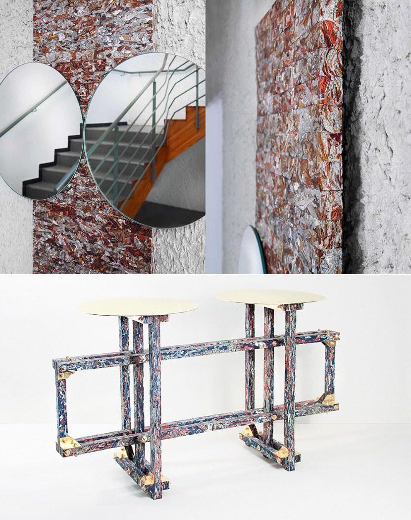 Structural Skin - Novo material feito de resíduos de couro descartado stylo urbano
