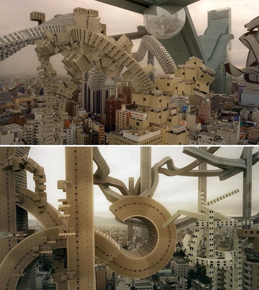 """A física desafia a arquitetura moderna no curta """"Corpos Espaciais"""" stylo urbano"""