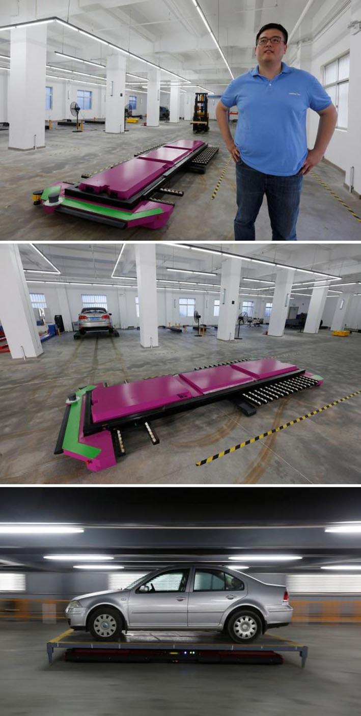 Conheça Geta, o robô manobrista que estaciona carros melhor que humanos stylo urbano