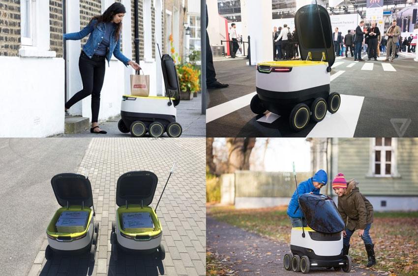 Starship Technologies lança robô autônomo que entrega encomendasna porta de casa stylo urbano