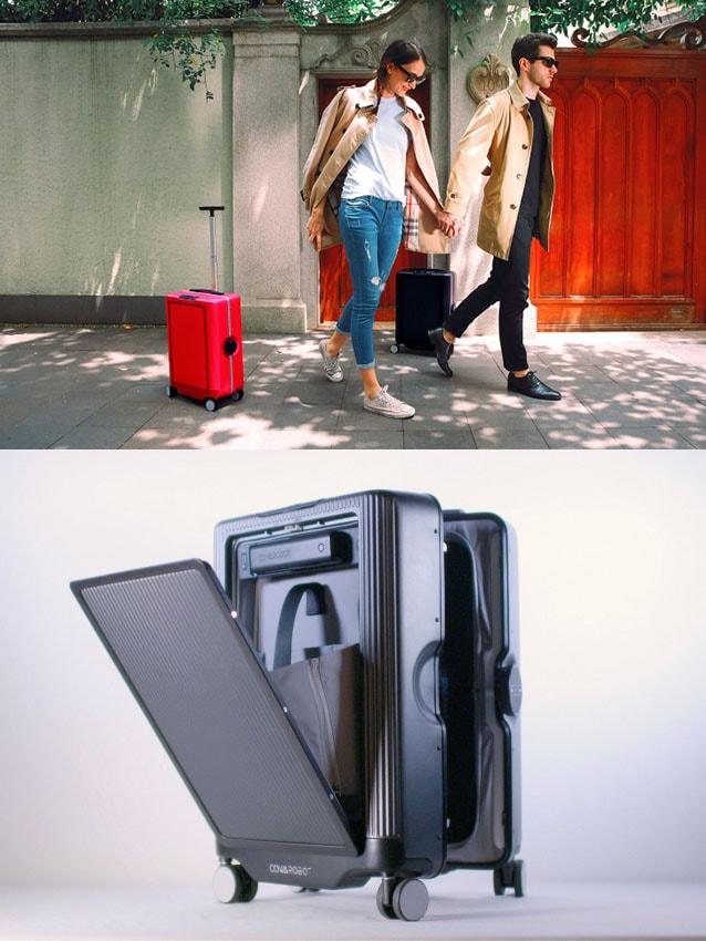 Empurrar mala agora é coisa do passado com a inovadora Cowarobot R1 stylo urbano