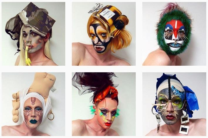 Lyle Reimer cria incríveis maquiagens artísticas inspiradas na pop art stylo urbano