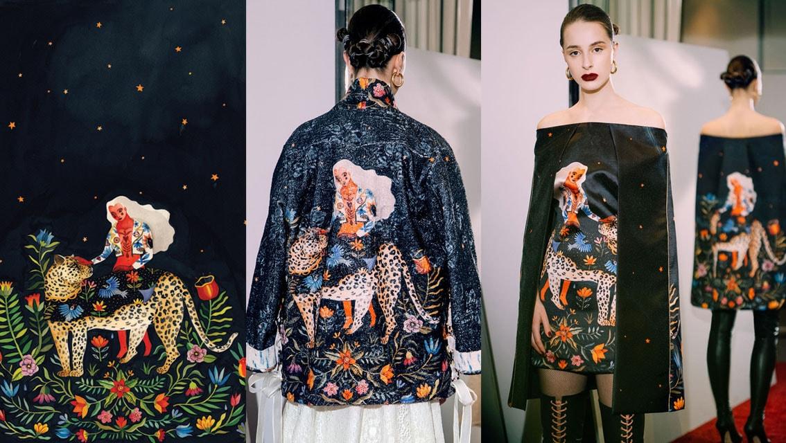 A artista Aitch inspiram os estilistas Rami Kadi e Sandra Mansour stylo urbano-4
