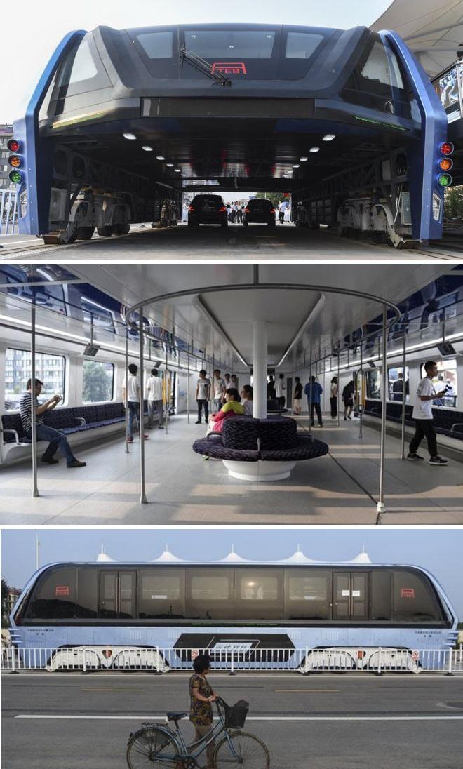 Chineses constroem o transporte público do futuro unindo metrô e ônibus stylo urbano