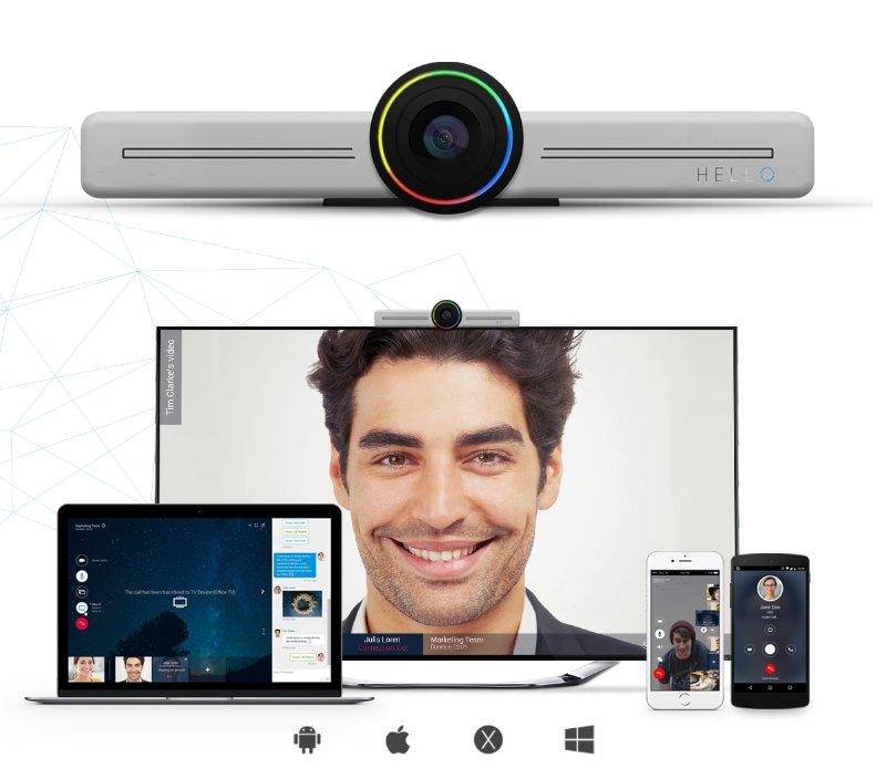 Conheça Hello, novo dispositivo multifuncional para videoconferência em grupo stylo urbano