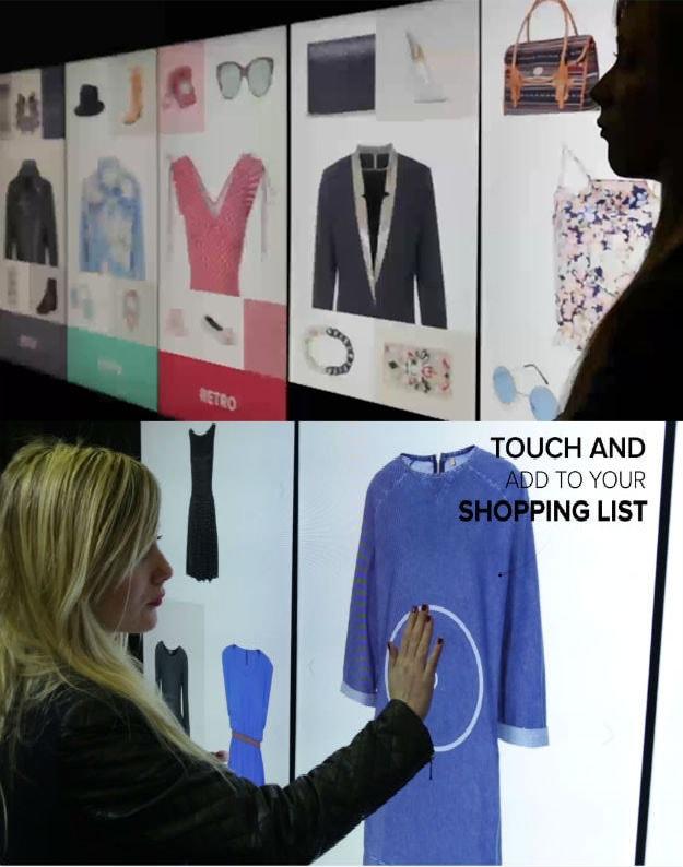 """A loja do futuro seria um """"Corredor da Inspiração"""" com produtos virtuais fabricados na hora stylo urbano"""