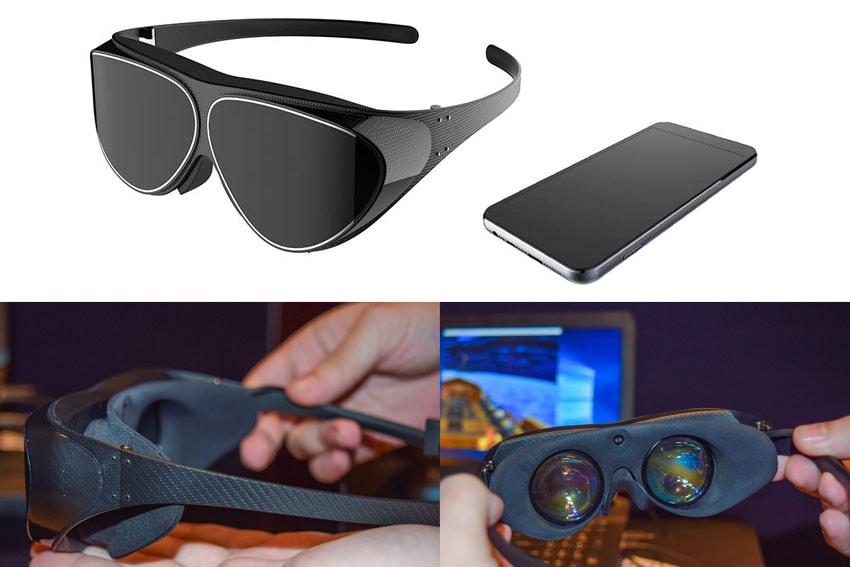 Dlodlo V 1 - Dispositivo fashion de realidade virtual que parece um óculos de sol stylo urbano-1