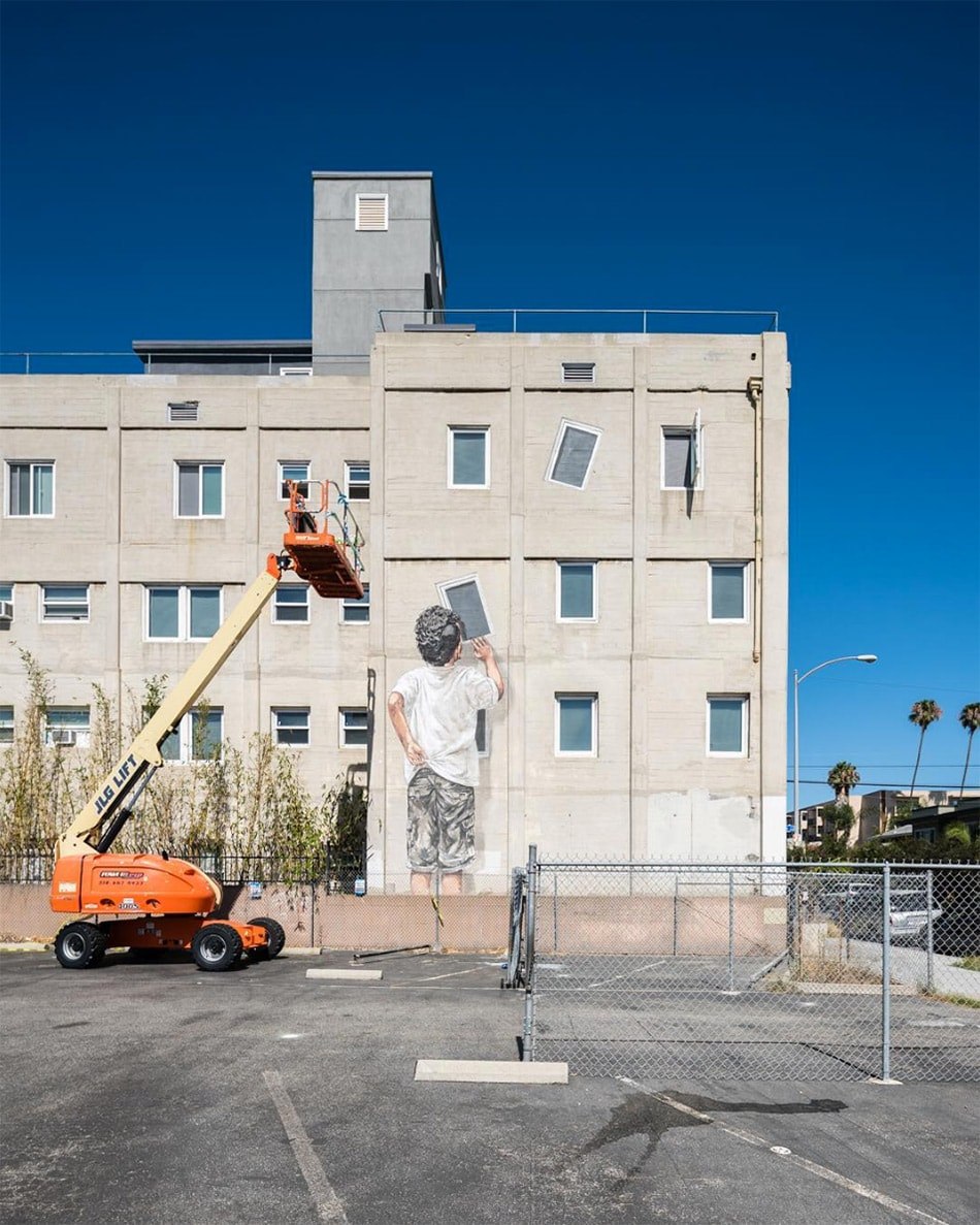 As poéticas intervenções urbanas do artista de rua Ernest Zacharevic stylo urbano-5