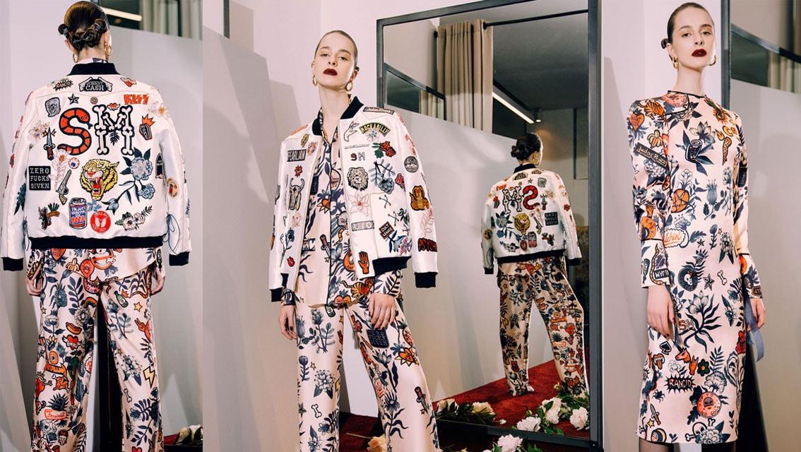 A artista Aitch inspiram os estilistas Rami Kadi e Sandra Mansour stylo urbano-3