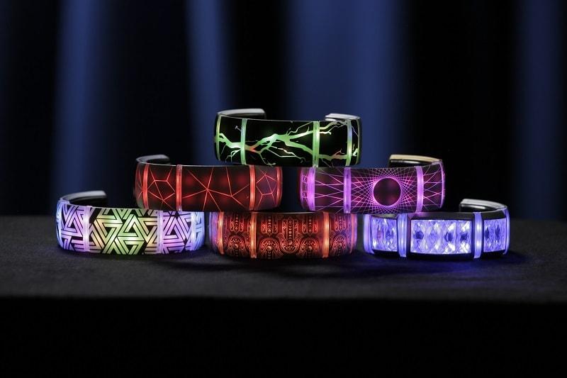 Gemio é a primeira pulseira de tecnologia vestível customizável que brilha ao ritmo da música stylo urbano-1