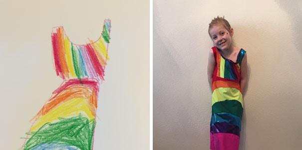 Marca de moda infantil permite que as crianças desenhem as estampas de seus vestidos stylo urbano -7
