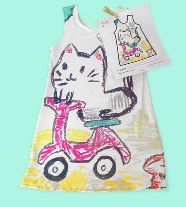 Marca de moda infantil permite que as crianças desenhem as estampas de seus vestidos stylo urbano-4