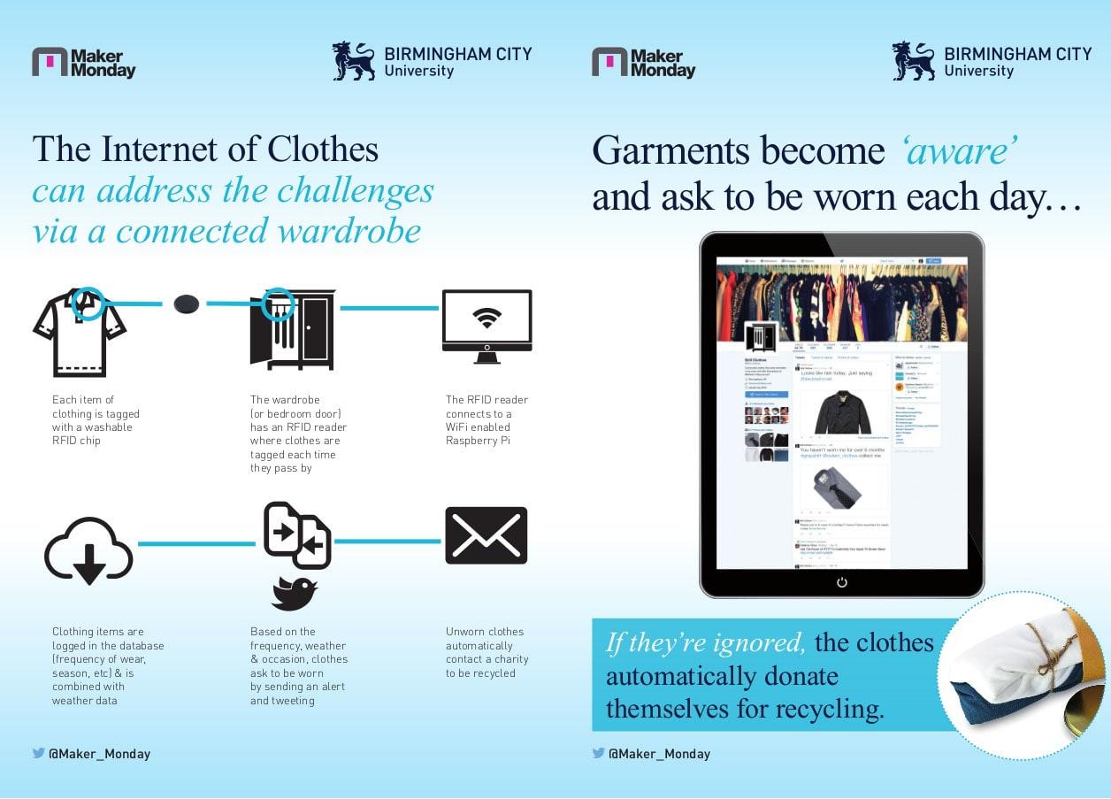 """Um dia, a Internet das coisas poderá libertar as roupas negligenciadas através da """"Internet das roupas"""" stylo urbano-2"""