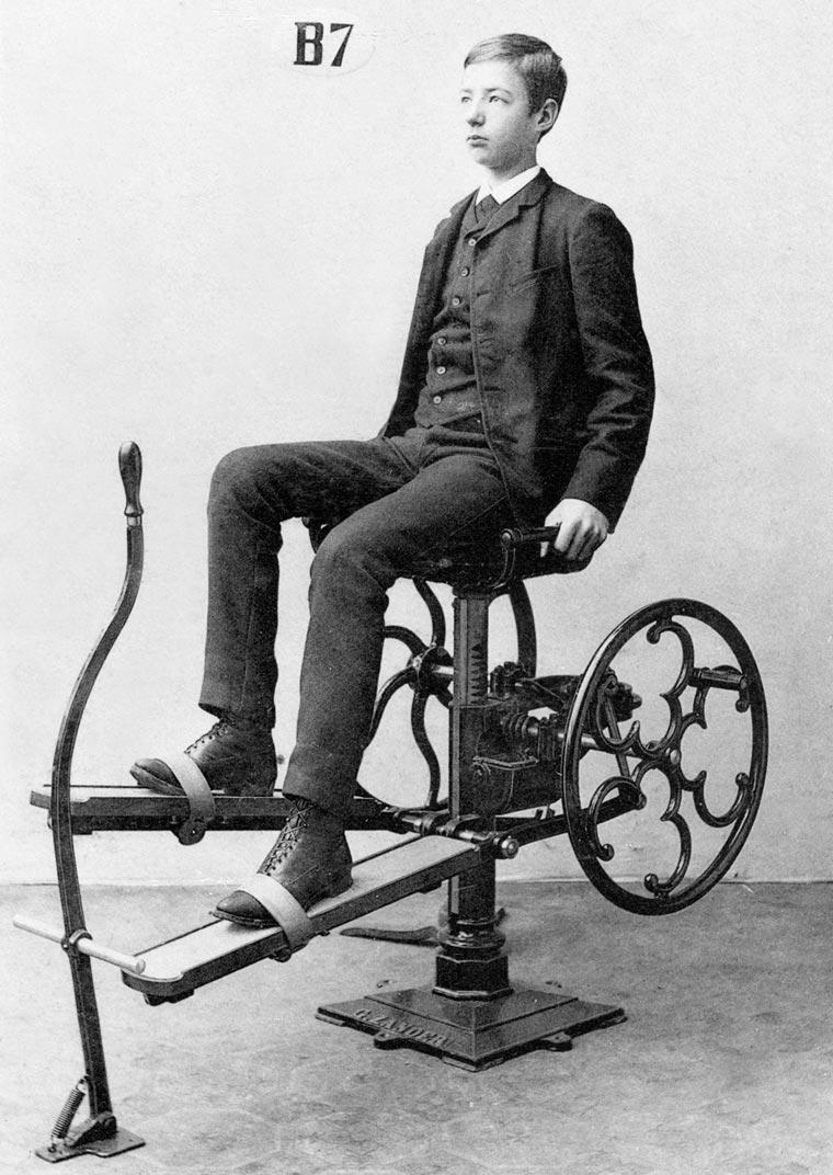 Fotos antigas mostram como eram os aparelhos de ginástica em 1892 stylo urbano-5