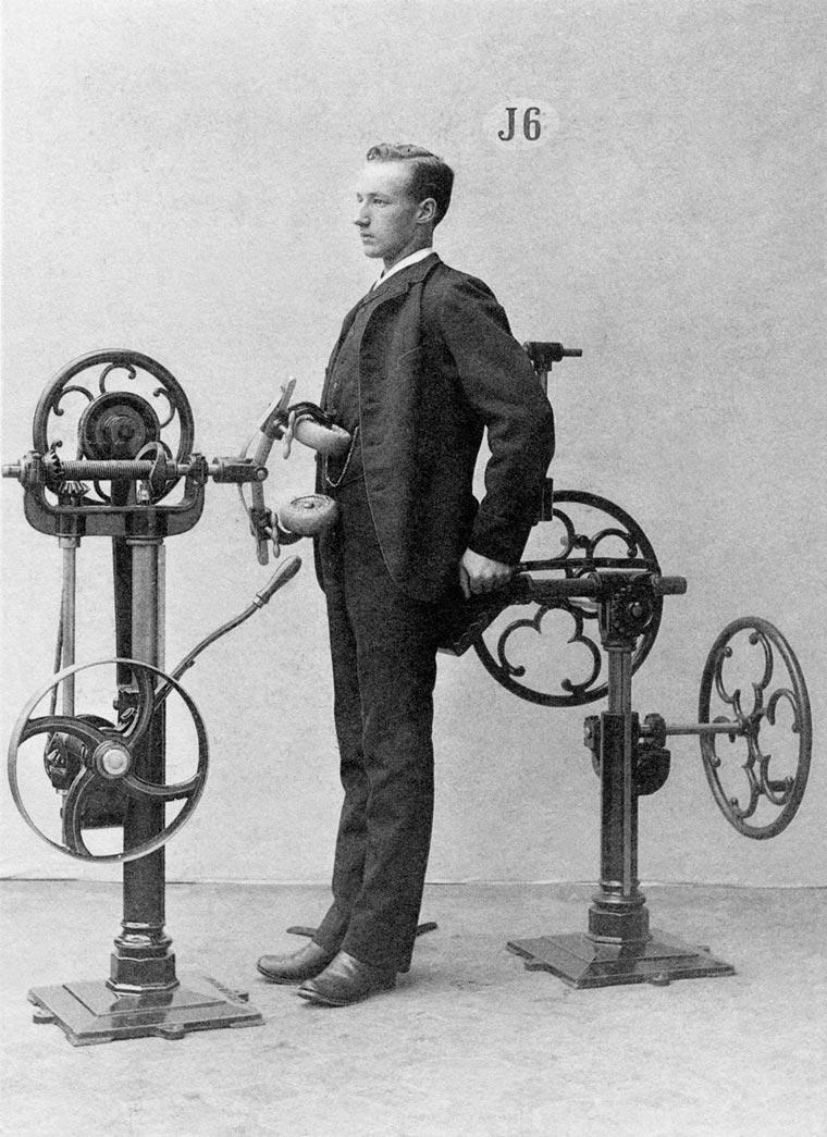 Fotos antigas mostram como eram os aparelhos de ginástica em 1892 stylo urbano-2