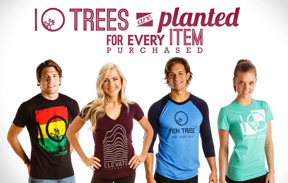 Tentree: Marca de moda sustentável que planta dez árvores para cada item vendido stylo urbano