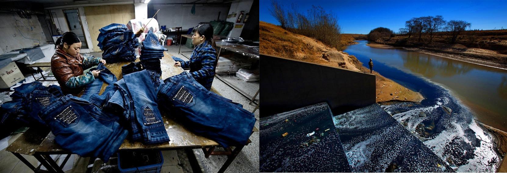 """Novo vídeo """"The Life of Jeans"""" documenta o enorme desperdício causado na fabricação de jeans stylo urbano"""