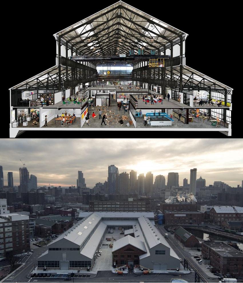 O coworking New Lab em Nova York une as startups mais inovadoras em tecnologia e design stylo urbano-1