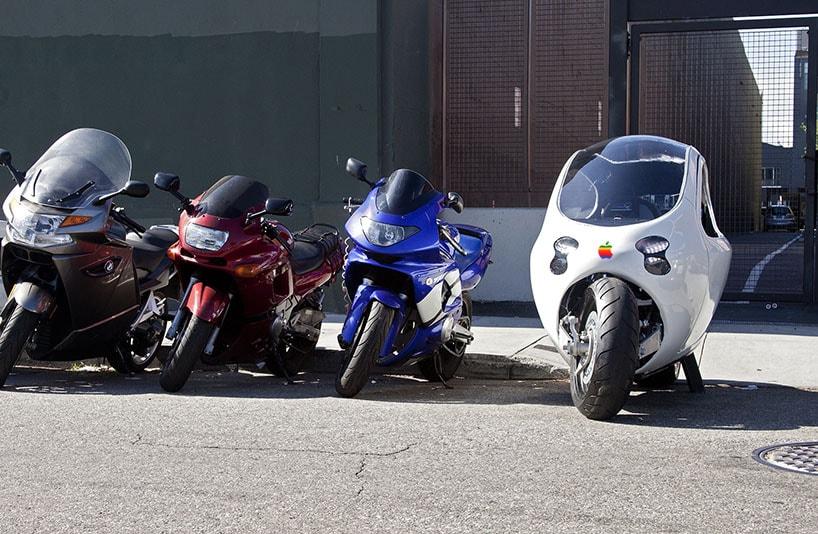 Apple pretende estrear naindústria automobilística com a motocicleta elétricaC-1stylo urbano-2