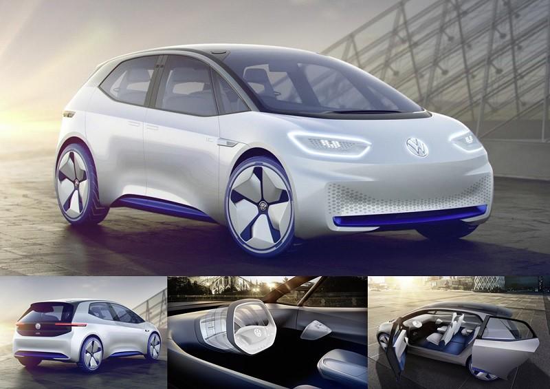 O carro conceito I.D. é a aposta da Volkswagen nos carros elétricos autônomos stylo urbano