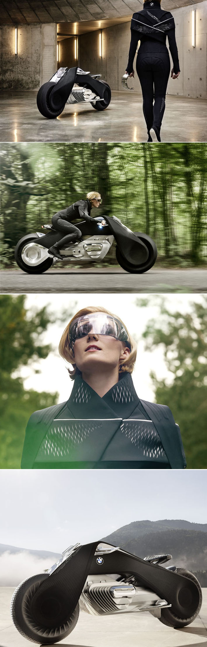 BMW Motorrad - A futurista moto autônoma e conectada mais segura do mundo stylo urbano