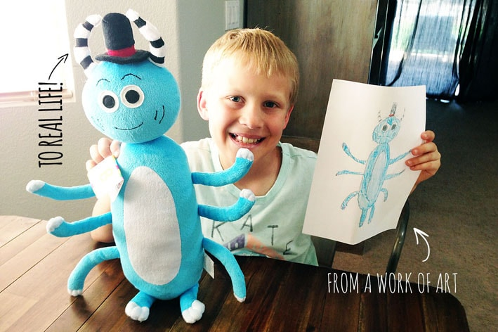 Budsies transforma desenhos de crianças e adultos em incríveis bichos de pelúcia stylo urbano