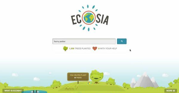 Ecosia - O único motor de busca da web que planta árvores enquanto você pesquisa stylo urbano