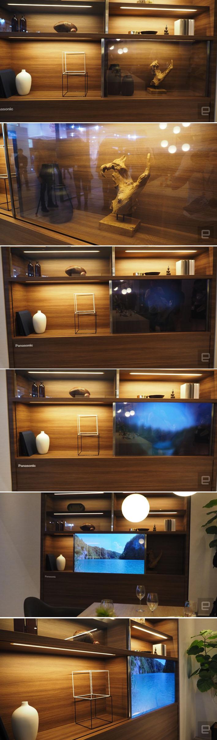 Panasonic apresenta no Japão a televisão transparente do futuro stylo urbano