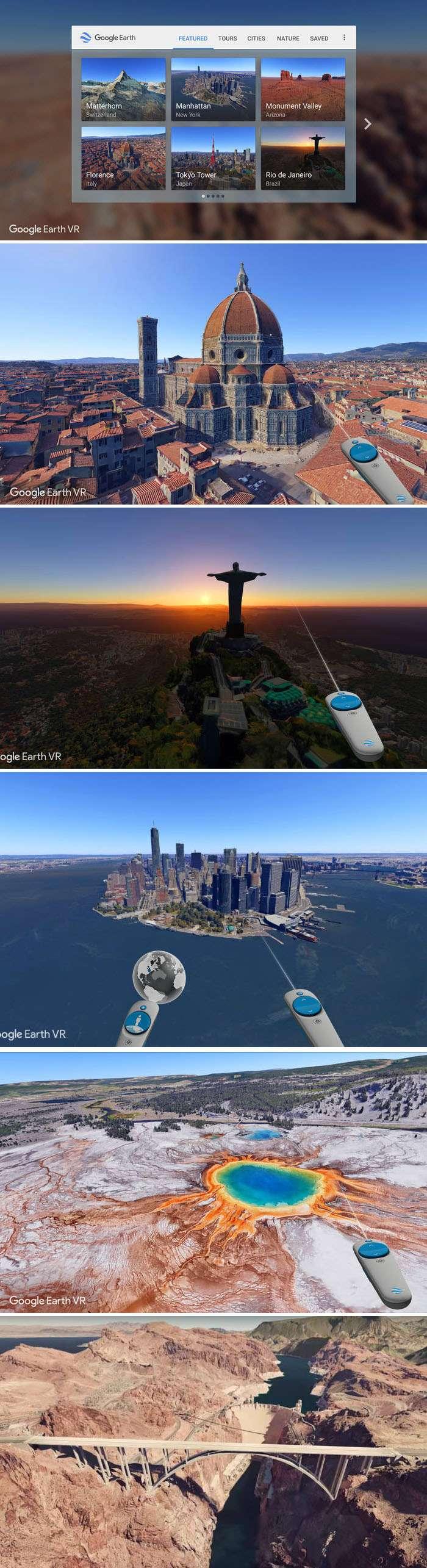 Google Earth VR - Voe sobre o mundo todo com a realidade virtual stylo urbano
