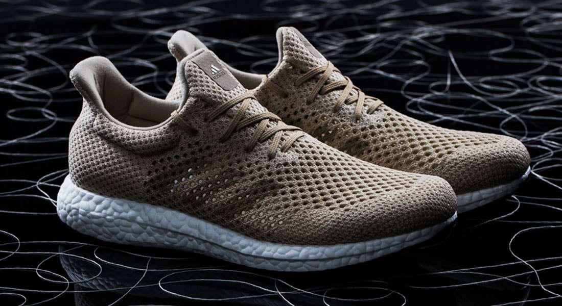 Adidas lança novo tênis feito de seda da aranha sintética biodegradável 385832d23d604