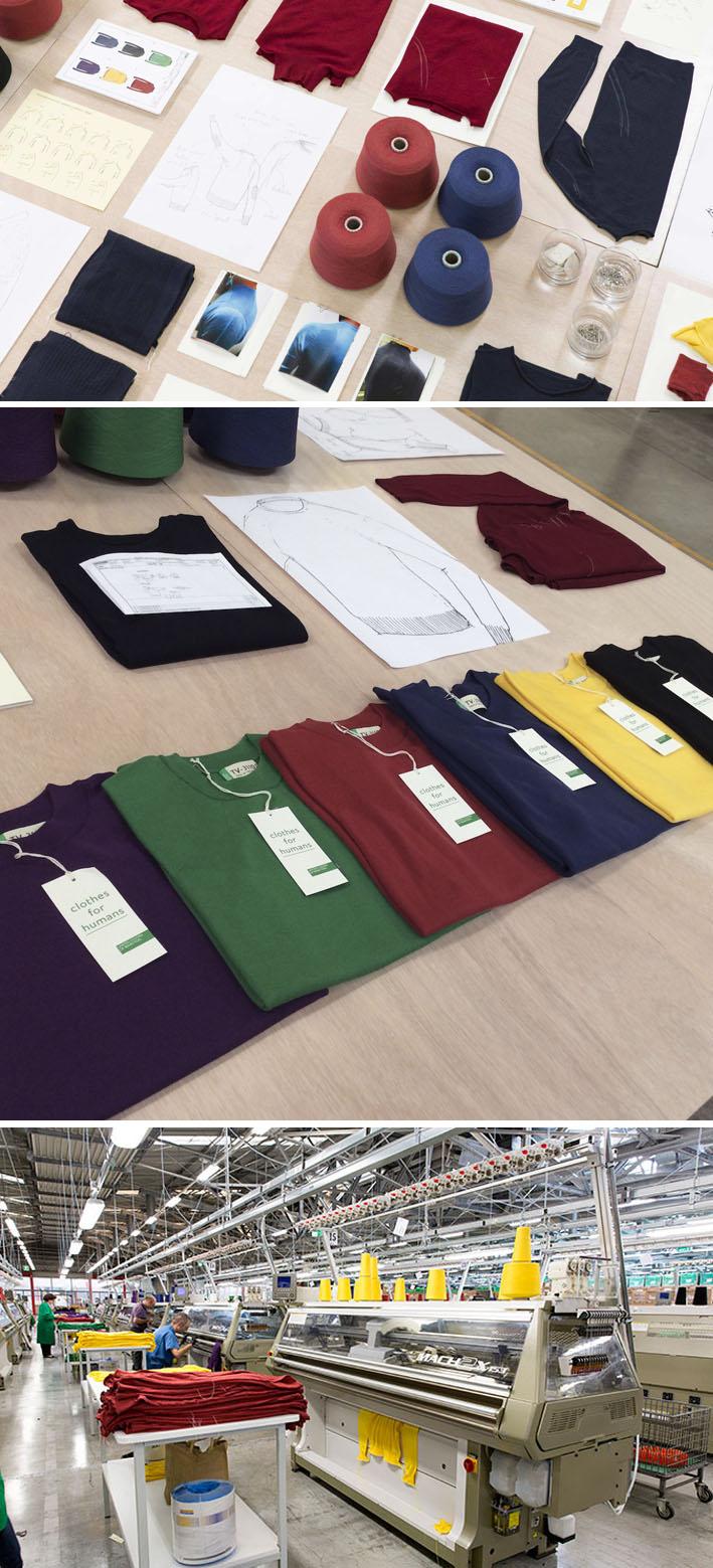 """Benetton lança o inovador conceito """"malha de fio único"""" com sua camiseta TV-31100 stylo urbano"""