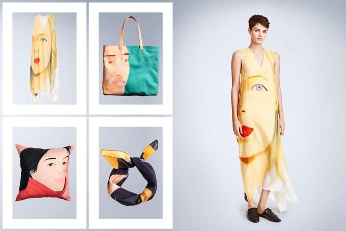 Redes de fast fashion lançam coleções cápsula em parceria com artistas plásticos stylo urbano-1