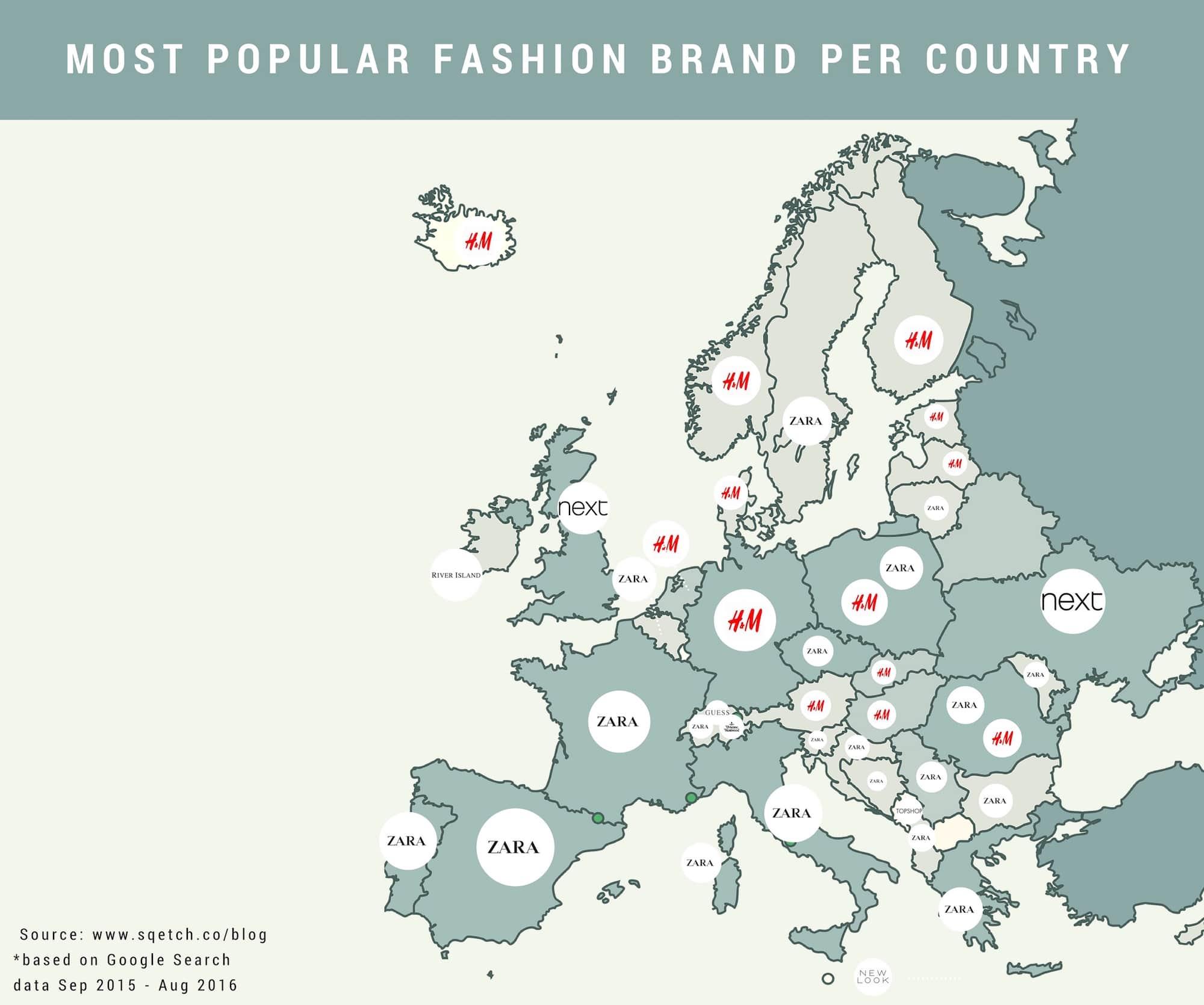 Conheça as 10 maiores empresas que dominam o varejo de moda na Europa stylo urbano-2