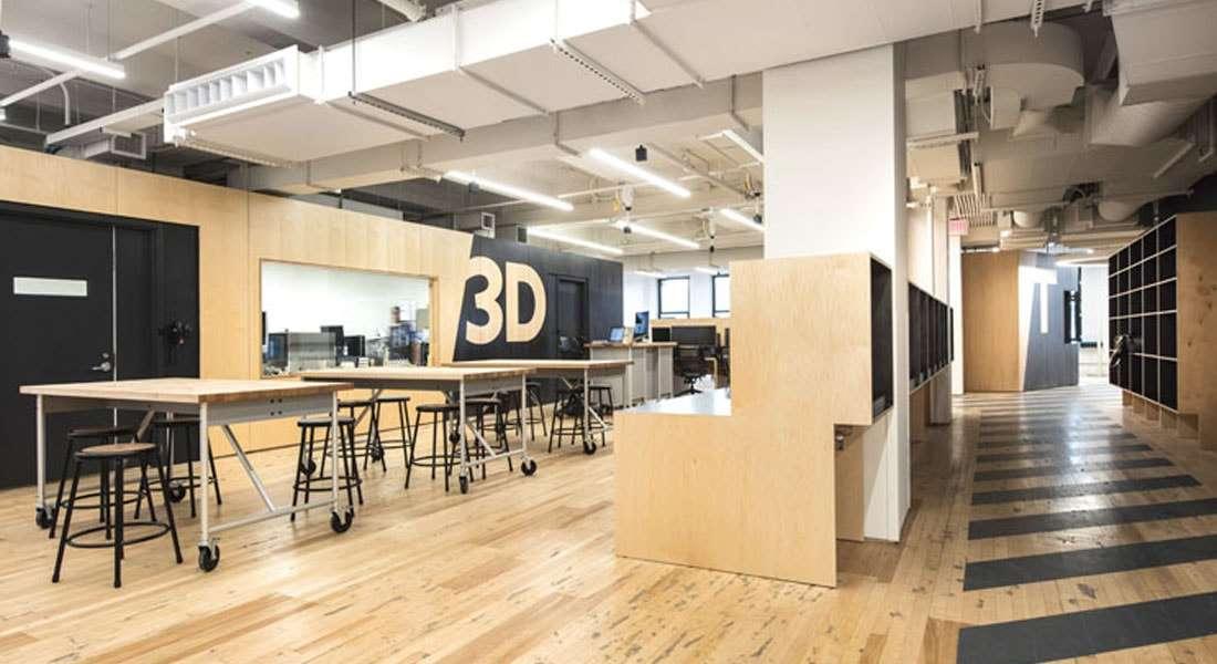 Parsons Making Center Novo Espa O Colaborativo Em Nova York Para Explorar O Futuro Do Design